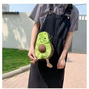 Avocado Plush Shoulder Bag Cross Body